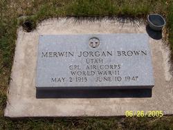 Merwin Jorgan Brown