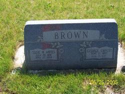 "Susan Rebecca ""Susie"" <I>Yates</I> Brown"