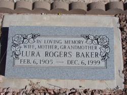 Lura <I>Rogers</I> Baker