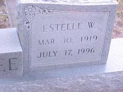Ruby Estelle <I>Walker</I> Baldree