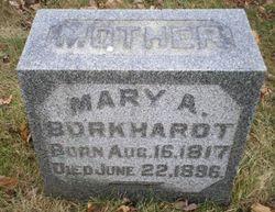 Mary A Burkhardt