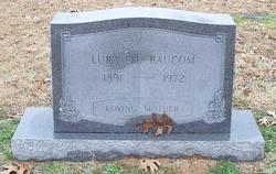 Lura E <I>Mullis</I> Baucom