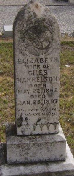 Elizabeth <I>Jeter</I> Harrelson