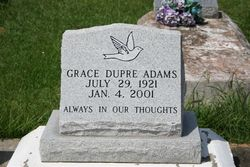 Grace <I>Dupre</I> Adams