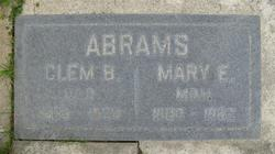 Mary Eizabeth <I>Brown</I> Abrams