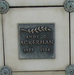 Andy George Ackerman