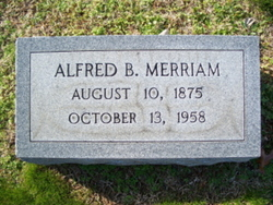 Alfred Burton Merriam