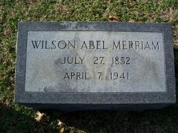 Wilson Abel Merriam