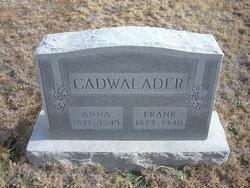 Anna R <I>Boswell</I> Cadwalader