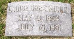Louise <I>Debs</I> Michel