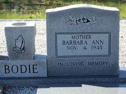 Barbara Ann Bodie