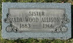 Ada E. <I>Wood</I> Allison