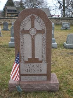 Mary <I>Evans</I> Moser