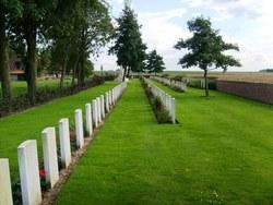 Ration Farm (La Plus Douve) Cemetery Annexe
