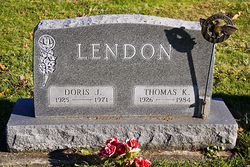 Doris J <I>Davis</I> Lendon