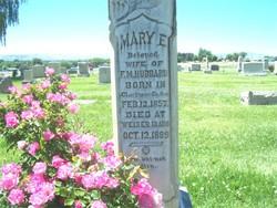 Mary Ella <I>Lowe</I> Hubbard