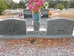 Birdie <I>Edmonson</I> Anderson