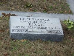 Hoyt Franklin Dixon, Jr