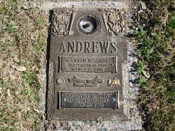 """Marvin Barnett """"Andy"""" Andrews"""