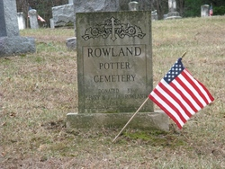 Rowland-Potter Cemetery