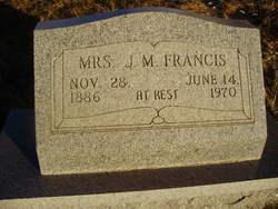 Minnie Lee <I>Hampton</I> Francis
