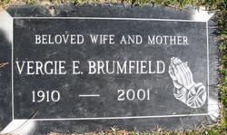 Vergie Viroquoa Elizabeth <I>Wyman</I> Brumfield