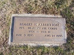 Robert Howard Albertson