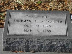 Thurman Lotis Alexander