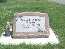 Neola F. <I>Adams</I> Rogers
