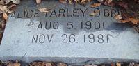 Alice <I>Farley</I> O'Brien