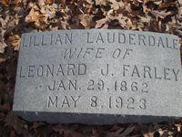Lillian <I>Lauderdale</I> Farley