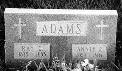 """Annie Eleanor """"Nellie"""" <I>Kettle</I> Adams"""