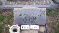 Mary M. <I>Goodale</I> Eddins