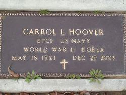 Carrol L Hoover