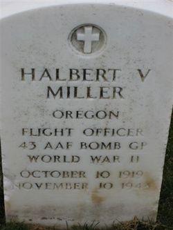 FLT O Halbert V Miller