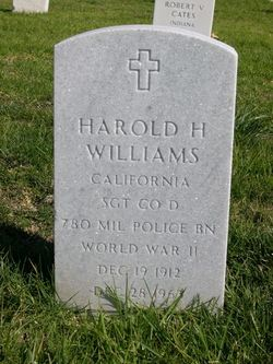 Harold H Williams