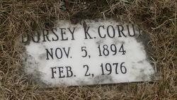 Dorsey K. Corun