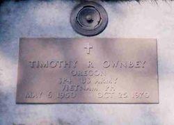 Spec Timothy Robert Ownbey