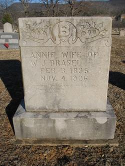 Annie Elizabeth <I>McGraw</I> Brasel