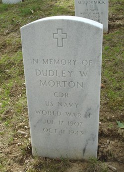 "CDR Dudley Walker ""Mush"" Morton"