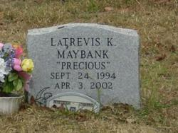 """LaTrevis K. """"Precious"""" Maybank"""