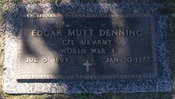 Edgar Matt Denning