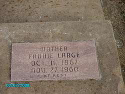 """Mary Frances """"Fannie"""" <I>Blakemore</I> Large"""