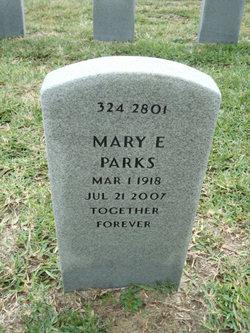 Mary E. <I>Kaley</I> Parks