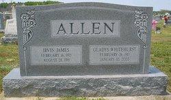 Gladys <I>Whitehurst</I> Allen