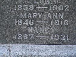 Mary Ann Peregrine