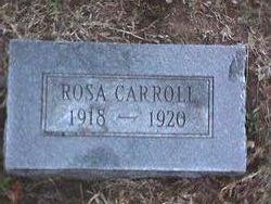 "Alma Rosa ""Little Rose"" Carroll"