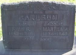 Martha Josephine <I>Larson</I> Carlson