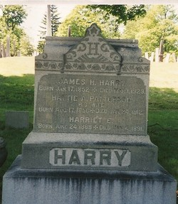 Harriet Alice <I>Patterson</I> Harry