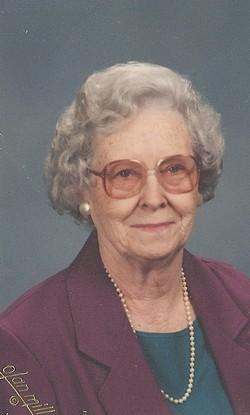 Hazel Gertrude <I>Rice</I> McDuffie